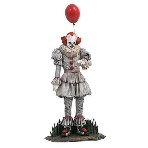 """Estatuilla Pennywise Diamond Select Toys Gallery IT Terror con Globo 9"""" (Versión 2017)"""