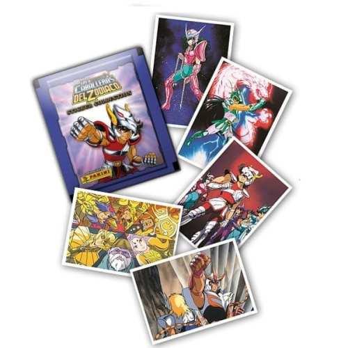 Laminas Caballeros del Zodiaco Panini Caballeros del Zodiaco Anime