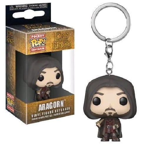 Llavero Aragorn Funko POP El Señor de los Anillos Fantasia