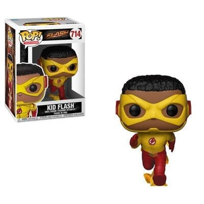 Figura Flash Funko POP Flash DC Comics Niño corriendo