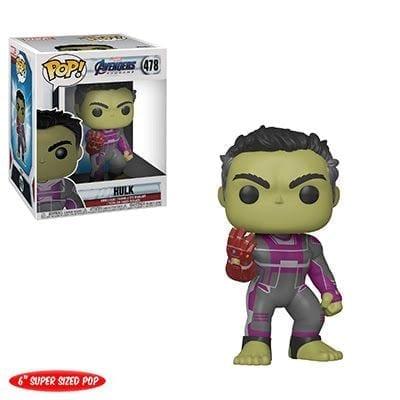 "Figura Hulk Funko POP Avengers Endgame Marvel con Guantelete 6"""
