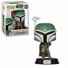 Figura Mandaloriano Funko POP Mandalorian Star Wars con Capa