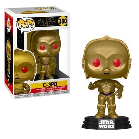 Figura C3PO Funko POP Star Wars Ojos Rojos