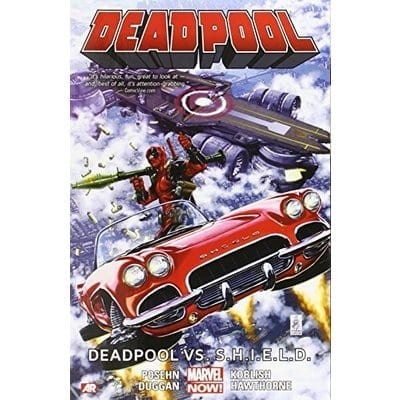 Cómic Deadpool Vs Shield Marvel Deadpool Marvel