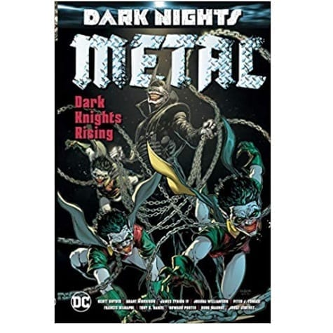 Cómic Dark Knights Rising DC Comics Dark Knight Metal DC Comics ENG (HC)