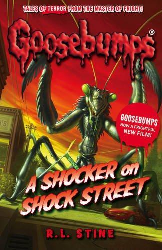 Libro Goosebumps Schoolastic Escalofrios Terror A Shocker on Shock Street ENG