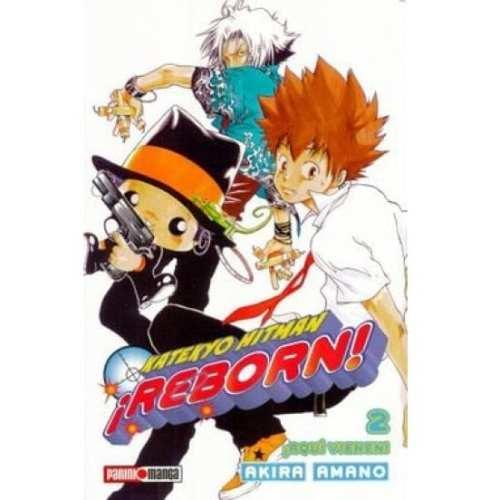 Manga Katekyo Hitman Reborn Panini Katekyo Hitman Reborn Anime Aquí Vienen Vol.2 ESP