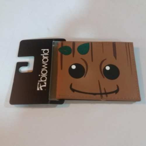 Billetera de Goma Groot PT Guardianes de la Galaxia Marvel (Rostro)
