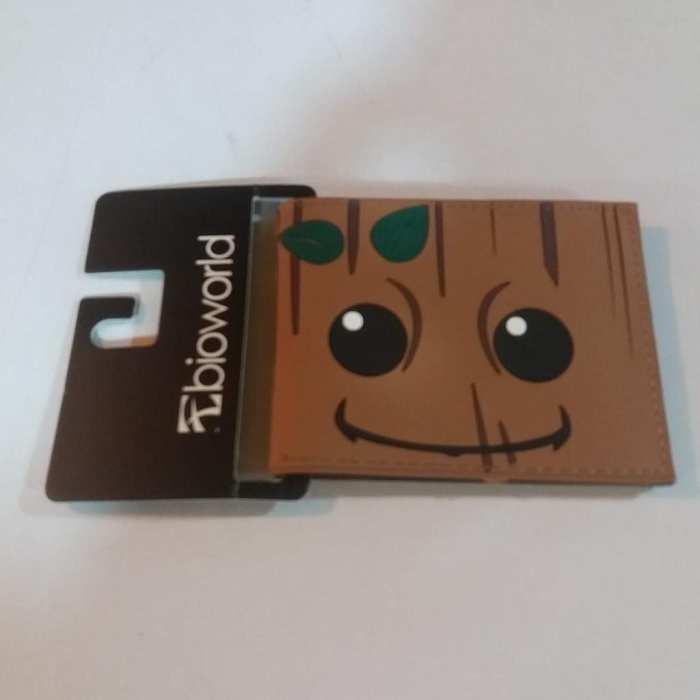Billetera de Goma Groot PT Guardianes de la Galaxia Marvel (Rostro)