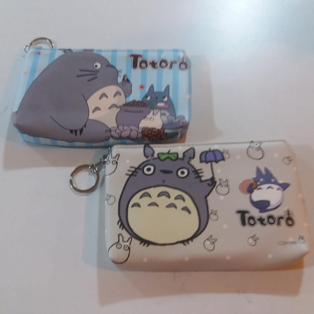 Cartuchera Totoro PT Studio Ghibli Anime con Amigos Diseños Varios (Unidad)