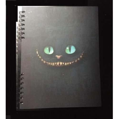 Cuaderno Cuadriculado Chessire Posim Alicia en el País de las Maravillas Disney Grande 22x25