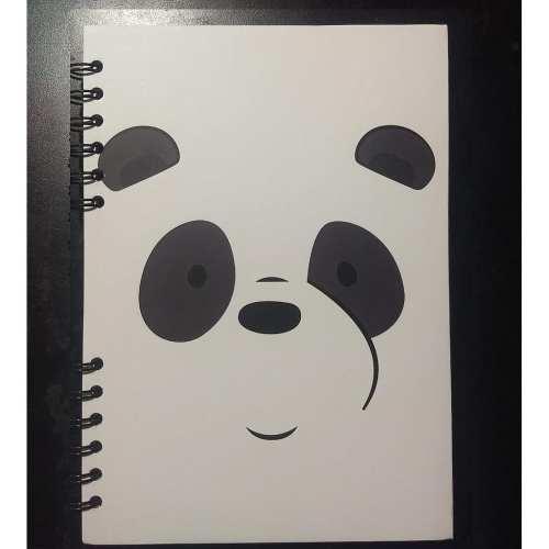 Cuaderno Cuadriculado Panda Posim Escandalosos Animados Pequeño 19x25