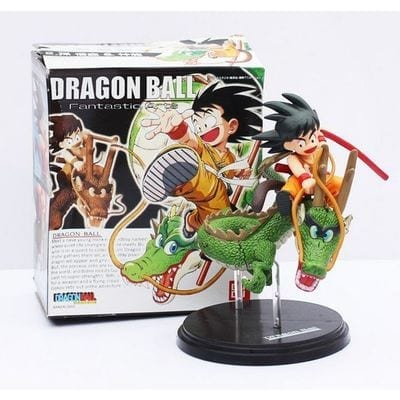 Figura Articulada Goku Sobre Dragón Bandai Dragon Ball Anime (Copia)