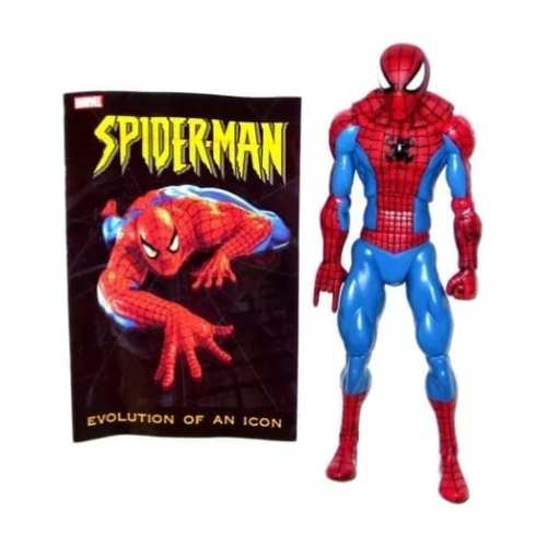 Figura Spider Man Hasbro Evolution of an Icon Spider Man Marvel en Bolsa 12""