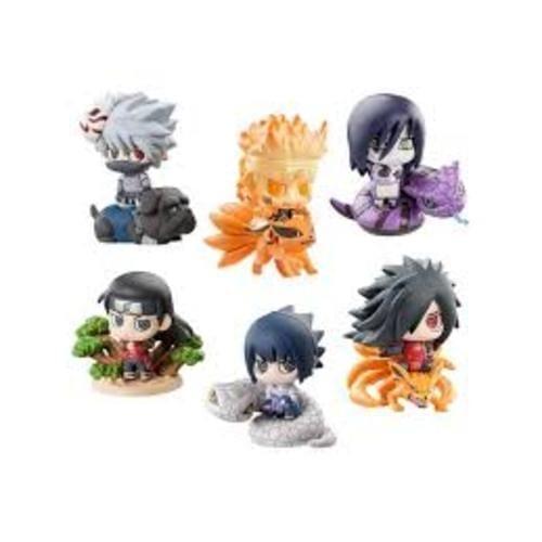 Figura Varios Petit Chara Land Naruto Anime (Copia) Caja Sorpresa