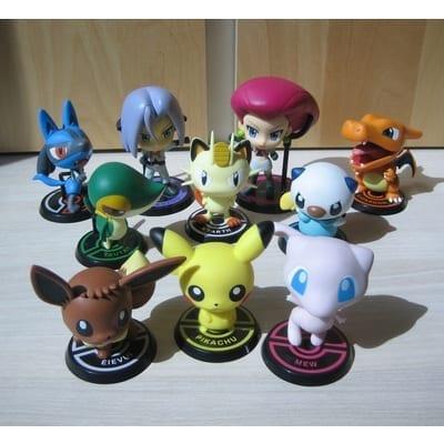"""Figura Pokémon Varios Chibi Kyun Chara Pokémon Anime 3"""" (Copia)"""