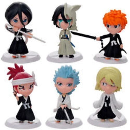 Figura Personajes Varios PT Bleach Anime Versión Chibi sin Caja (Copia)