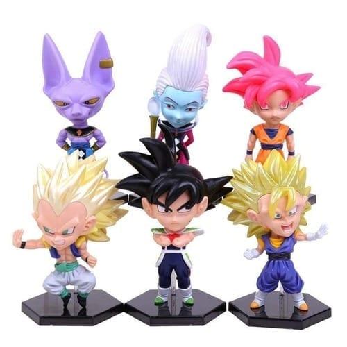 "Figura Varios PT Dragon Ball Super Anime Wave 3 Personajes Cabezones en Bolsa 5"" (Unidad) (copia)"
