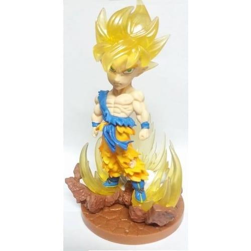 "Figura Goku PT Dragon Ball Anime Five Stara SSJ 1 Cabezón 4"" (copia)"