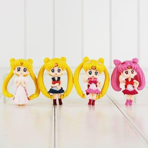 """Figura Sailor Moon y Chibiusa PT Sailor Moon Anime 3"""" (Unidad) (Copia)"""