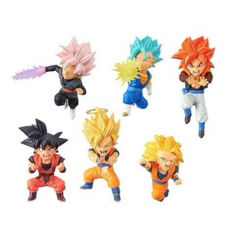 Figura Bravery Saiyans Vol 2 Banpresto WCF DRagon Ball Anime