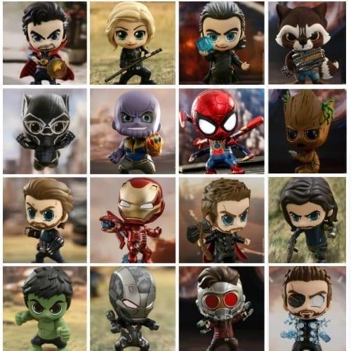 """Figura Varios PT Avengers Infinity War Marvel Cosbaby 5"""" (copia)"""
