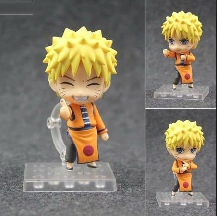 Figura Naruto Good Smile Nendoroid Naruto Anime Versión Exhibición en China (Unida) (Copia)