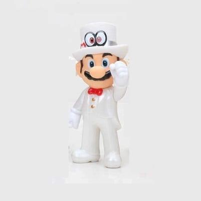 """Figura Mario con Cappy Traje de boda Banpresto Mario Odissey Videojuegos 4"""" en Bolsa (Copia)"""