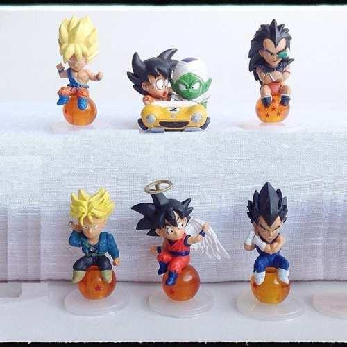 Figura Personajes Varios Banpresto WFC Dragon Ball Anime Sobre Esferas (Unidad)  (Copia)