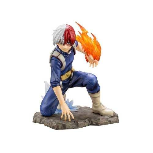 """Figura Shoto Todoroki Kotobukiya Art FX Boku No Hero Anime 8"""" (Copia)"""