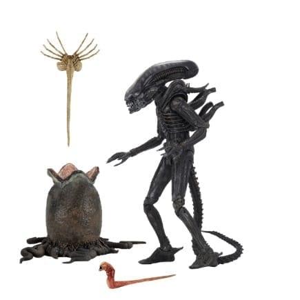 """Figura Xenomorfo NECA Alien Ciencia Ficción con huevo y Facehugger en Bolsa 7""""(copia)"""