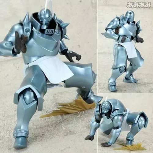"Figura Alphonse Elric Revoltech Yamaguchi Full Metal Alchemist Anime Articulada 7"" (Copia)"