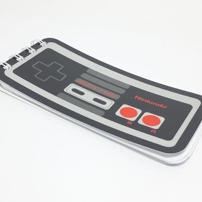 Libreta Control NES Poof Arts Nintendo Videojuegos