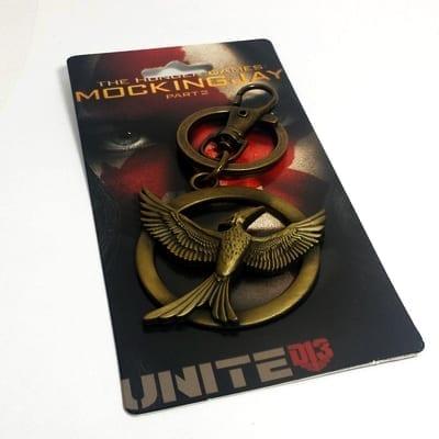 Llavero Metálico Mockingjay PT The Hunger Games Ciencia Ficción