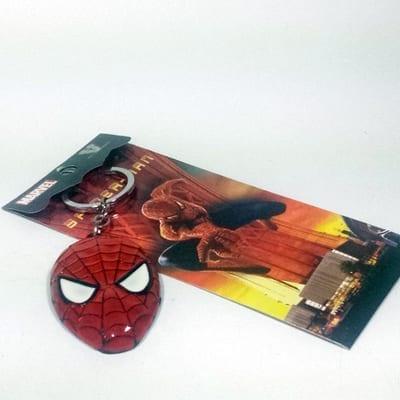 Llavero Metálico Spider Man Máscara PT Spider Man Marvel