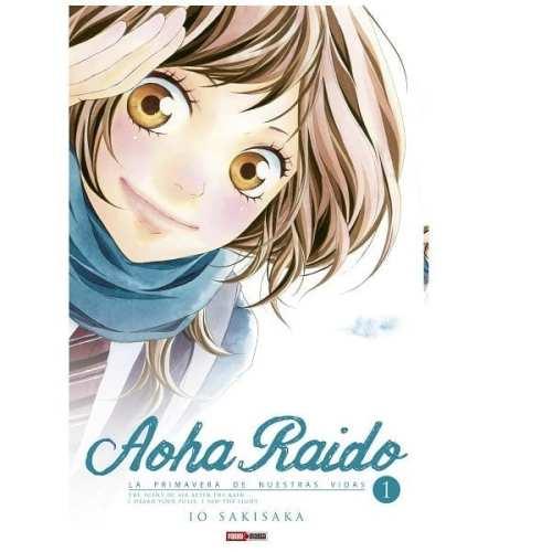 Manga Aoha Raido la Primavera de Nuestras Vidas Panini Aoha Raidon Anime Volumen 1
