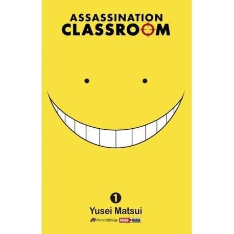 Manga Assassination Clasroom Panini Assassination Classroom Anime Volumen 1