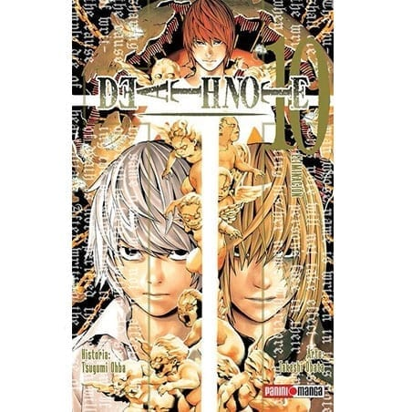 Manga Death Note Panini Death Note Anime Volumen 10