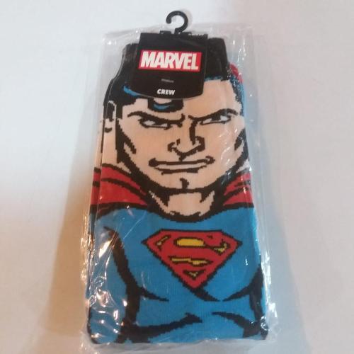 Medias Largas Superman Clásico Bioworld Superman DC Comics