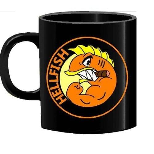 Mug Tallado Hellfish TooGEEK Los Simpsons Animados