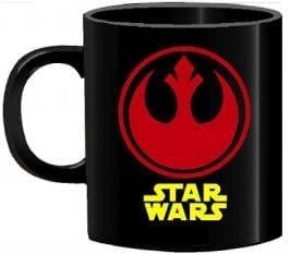 Mug Tallado Rebeldes TooGEEK Star Wars Logo