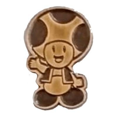 Pin Metálico Toad Saludando TooGEEK Mario Bros Videojuegos