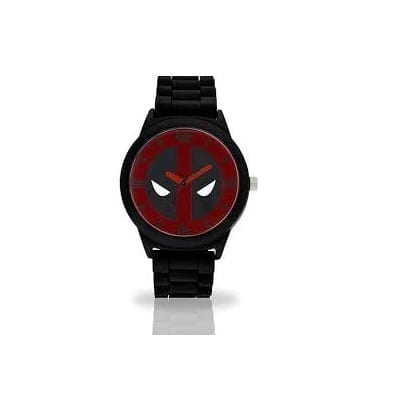 Reloj de Pulso Deadpool Accutime Marvel Emblema Rojo