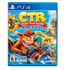 Videojuego Playstation 4 DPR Beenox CTR Crash Team Racing Nitro Fueled Videojuegos