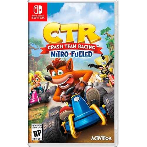 Videojuego Nintendo Switch DPR Beenox CTR Crash Team Racing Nitro Fueled Videojuegos