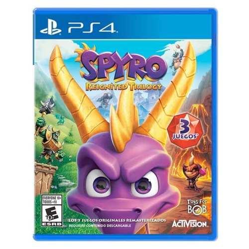 Videojuego Nintendo Switch DPR Spyro Reignited Trilogy Incluye 3 Juegos Videojuegos