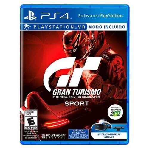 Videojuego Playstation 4 DPR Polyphony Digital Gran Turismo Sports The Real Driving Simulator Videojuegos