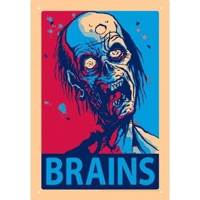 Señal Metálica Brains Aquarius Zombies Terror