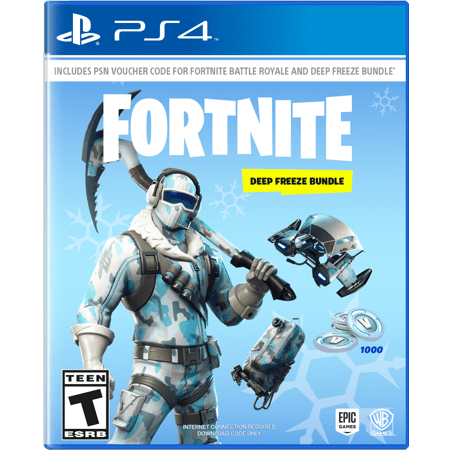 Videojuego Playstation 4 DPR Epic Games Fortnite Deep Freeze Bundle Videojuegos