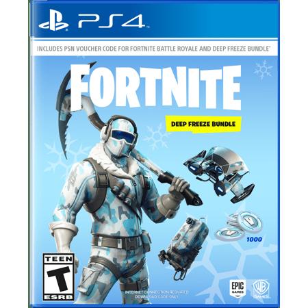 Videojuego Playstation 4 DPR Epic Games Fortnite Deep Freeze Bundle Videojuegos